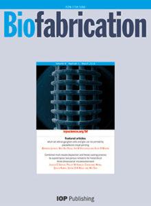 Картинки по запросу biofabrication journal